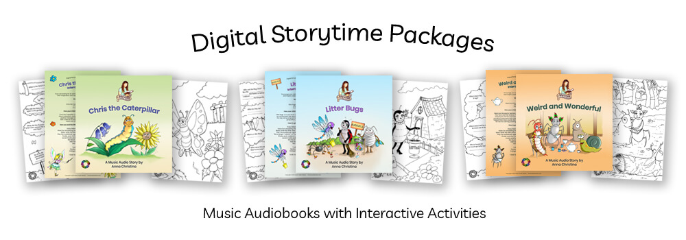 Digital Storytime with Anna Christina Packages on Etsy image