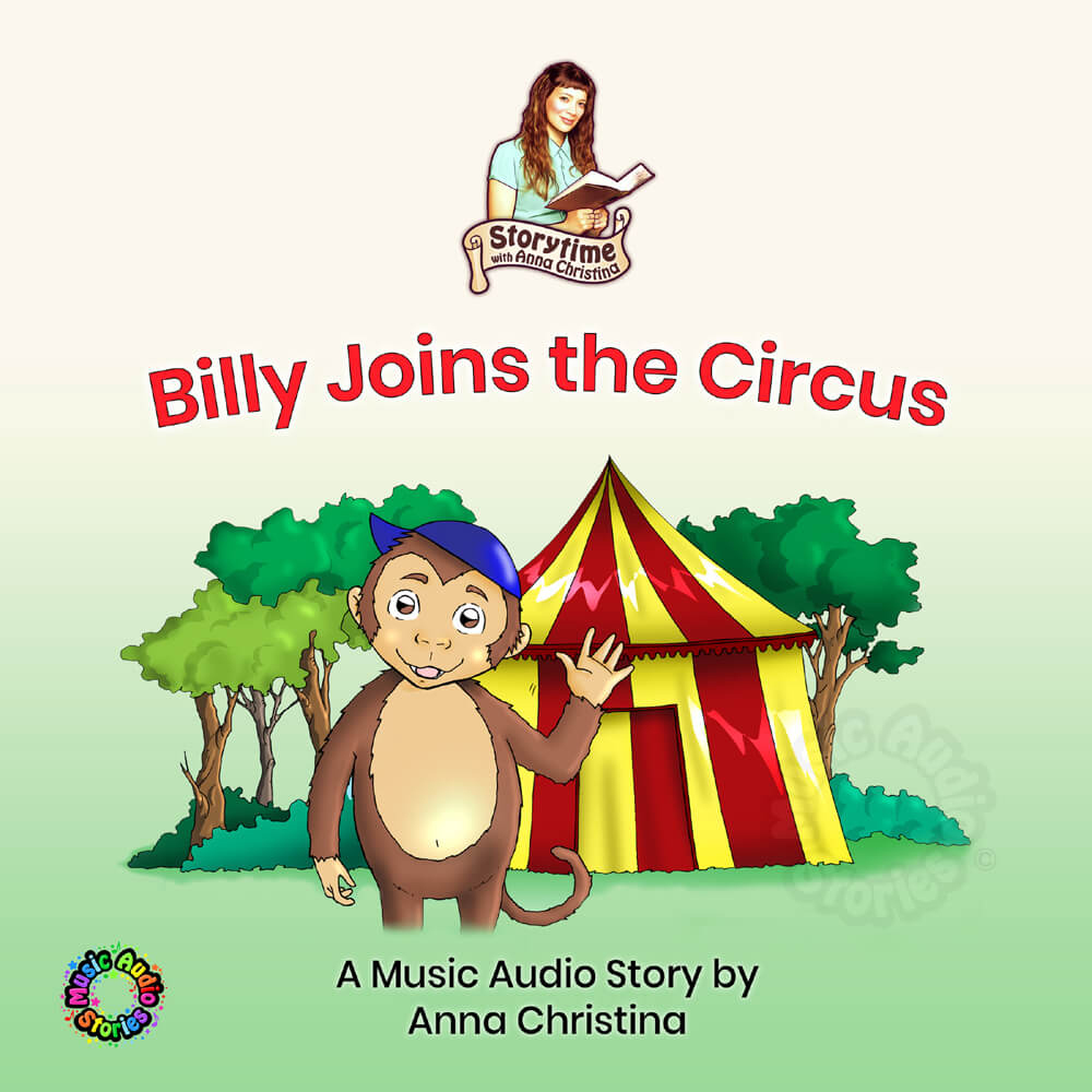 Billy Joins the Circus audiobook cover image