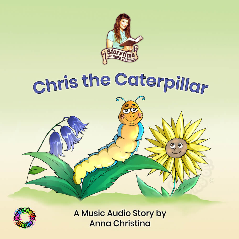 Chris the Caterpillar audiobook cover image
