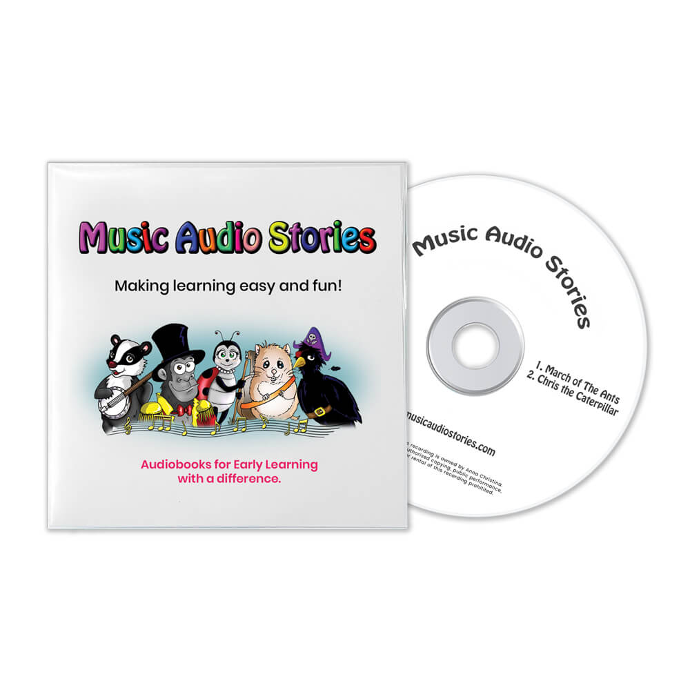 Music Audio Stories Digital Storytime Package